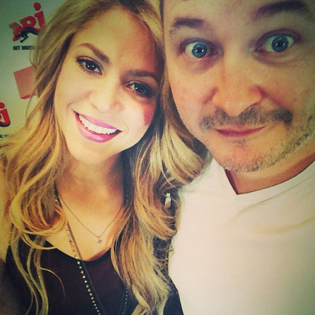 Cauet et Shakira