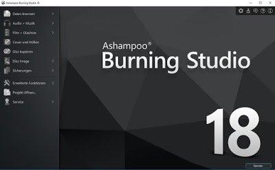 Ashampoo Burning Studio 18 Incl Crack + Key Activator - GetpcSofts