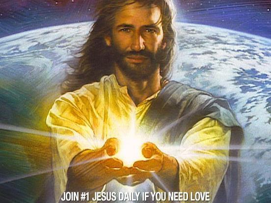 OUI JESUS EST LA LUMIERE DU MONDE