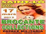 "Annonce ""St-Lô - 17 mars - brocante + espace militaria"""