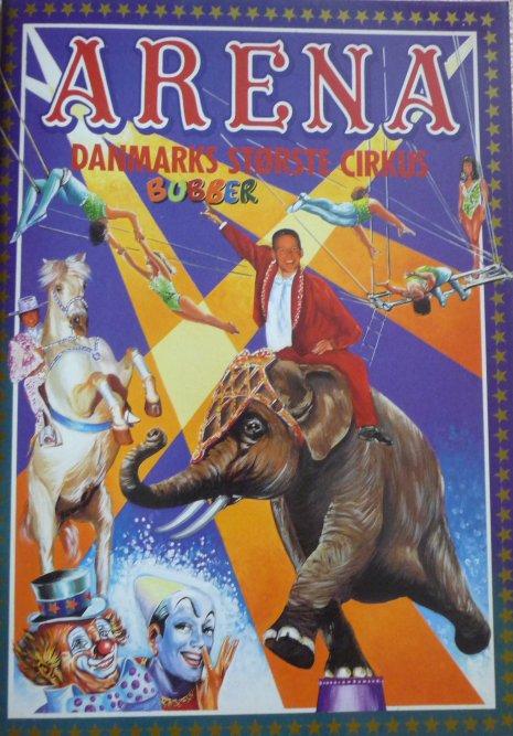 A vendre / On sale / Zu verkaufen / En venta / для продажи :  Programme cirkus ARENA 1994