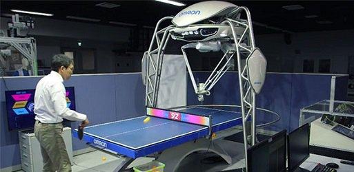 Le robot Forpheus est entraîneur de tennis de table