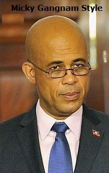 Martelly Gangnam Style !?! Haitian President Doing the Gangnam Style