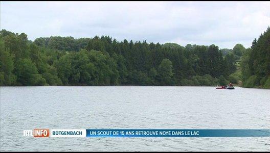 Le jeune scout disparu à Bütgenbach retrouvé mort dans le lac