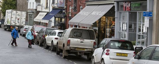 Local Businesses in Welsh Town Crickhowell goes Offshore