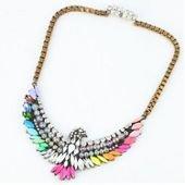 Collier chaîne argent, multicolore, ajustable, femme sur PriceMinister