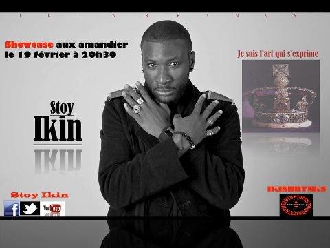 Stoy Ikin en showcase avec IKINBRYNKS