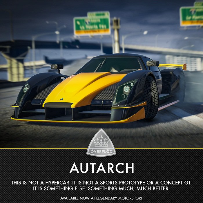 GTA Online: Overflod Autarch Supersportive est disponible