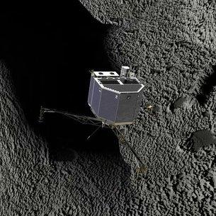 L'hibernation éternelle guette l'atterrisseur de Rosetta