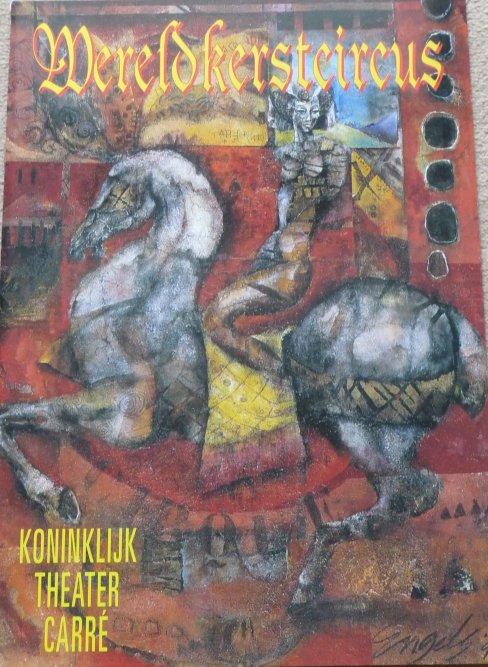 A vendre / On sale / Zu verkaufen / En venta / для продажи :  Programme Mereldkerstcircus 1996