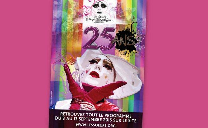 En septembre 2015, Les S½urs de la Perpétuelle Indulgence fêtent les 25 ans de la naissance de leur Ordre en France
