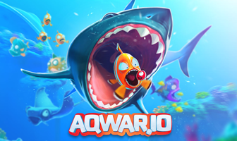 Aqwario - Play Aqwar.io multiplayer Fish battle online game - RimSim Games