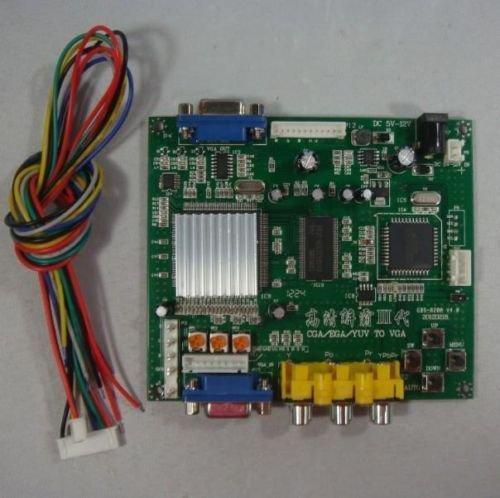 GBS8200 CGA/EGA/RGB/ to VGA GAME Vidéo Convertisseur board 1 VGA Jeu Converti
