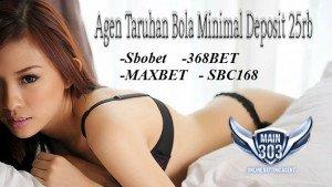 Agen Taruhan Bola Minimal Deposit 25rb | Main303 | Agen Bola Casino Tangkas Online Terbaik Indonesia