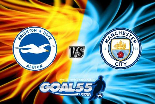 Prediksi Skor Brighton & Hove Albion Vs Manchester City 12 Agustus 2017