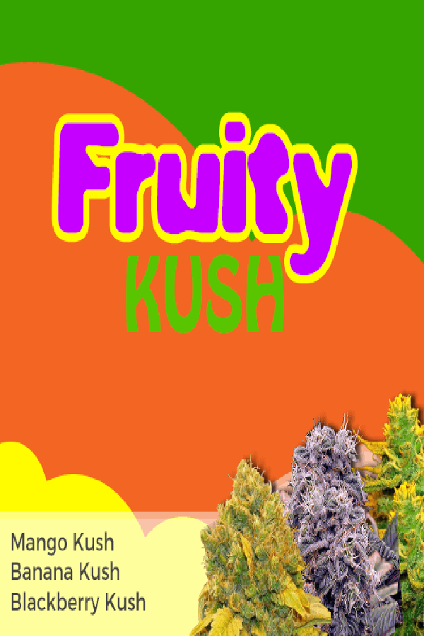 fruity kush mixpack marijuana seeds - Marijuana Seeds