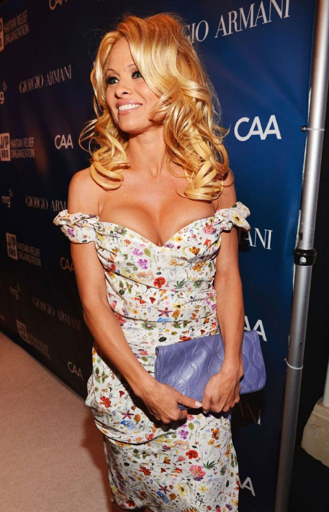 Pamela Anderson – 2nd Annual Sean Penn and Friends Help Haiti Home Gala