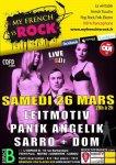 """Prochain concert, le samedi 26 mars à l'Espace B soirée """"My French Is rock"""", Paris! - leitmotiv"""