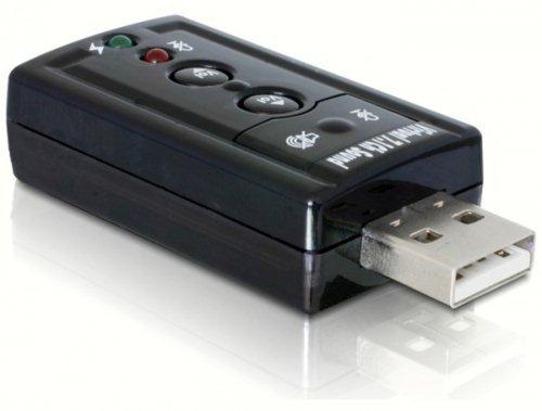 Adaptateur Carte Son Externe Clé USB 3D Audio Micro 7.1