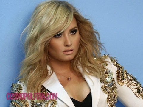 Demi Lovato Cosmo Cover Shoot