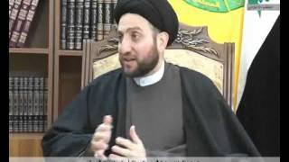 السيد عمار الحكيم خلال لقائه جريدة الاهرام المصرية نحن بالضد من تشييع السنة أو تسنين الشيعة