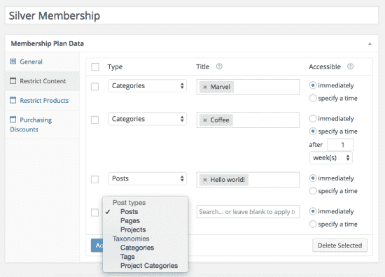 Memberships 1.9.5 Extension For WooCommerce - Get Lot