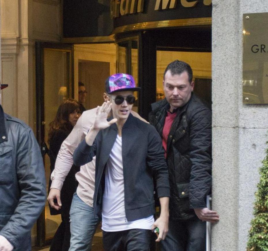 Justin Bieber à Paris, vidéo exclu