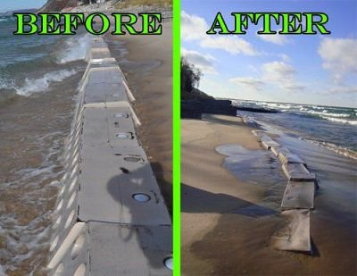 Demand Increases for South American Beach Erosion Solution