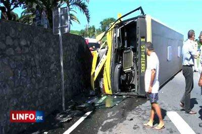 Car renversé: 11 passagers blessés et choqués - Faits Divers
