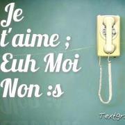 Je t'aime ; Euh Moi Non ! :$ | Facebook