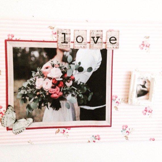 Carte de saint Valentin ou félicitations mariage : Cartes par del-crea-fete