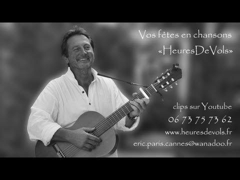 Johnny Hallyday - L'hymne à L'amour (par HeuresDeVols Guitare Voix)