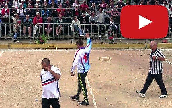 Tyson frappe fort - Championnats de France - ARTICLES sur la pétanque