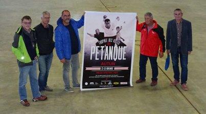 Pétanque : Le Trophée des villes prendra ses quartiers 2017 à Autun