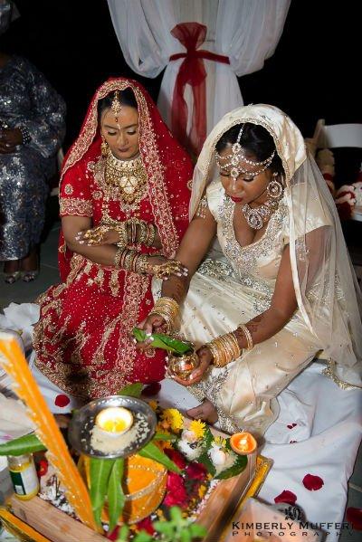 Ice & Sita on their Wedding Day