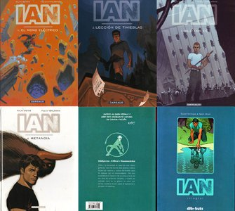 IAN: #1-4 (Version Color) & Integral (Blanco y Negro)