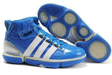 Cheap Adidas Beast Commander Dwight Howard Shoes Blue Silver