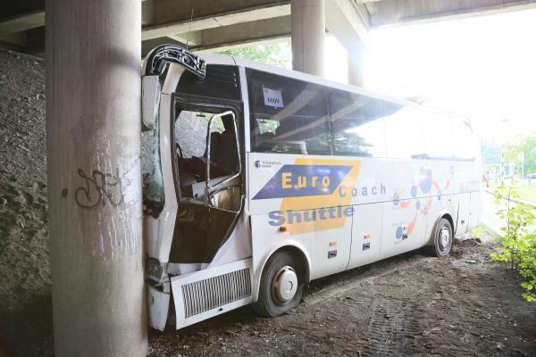 Terrible accident à Gosselies: Philippe Scheepmans, le chauffeur du car scolaire, a été tué sur le coup