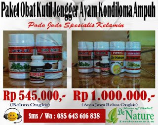 Alternatif Obat Kutil Kelamin Dari Pakar Herbal De Nature - produk denature