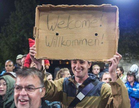 «Willkommen» aux réfugiés: prenez ça dans la figure, les Français - Rue89