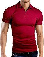 Grin&Bear coupe slim contrast Polo Tee Shirt, GB160: Amazon.fr: Vêtements et accessoires