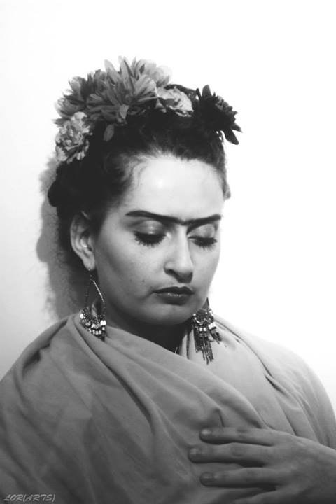 Look like Frida (See more on My Facebook Page)
