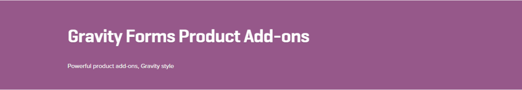 WooCommerce Gravity Forms Product Add-ons 3.1.2 Extension - Get Lot