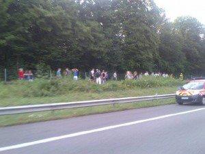 Meurthe-et-Moselle – Un bus allemand prend feu sur l'A31 ce lundi soir