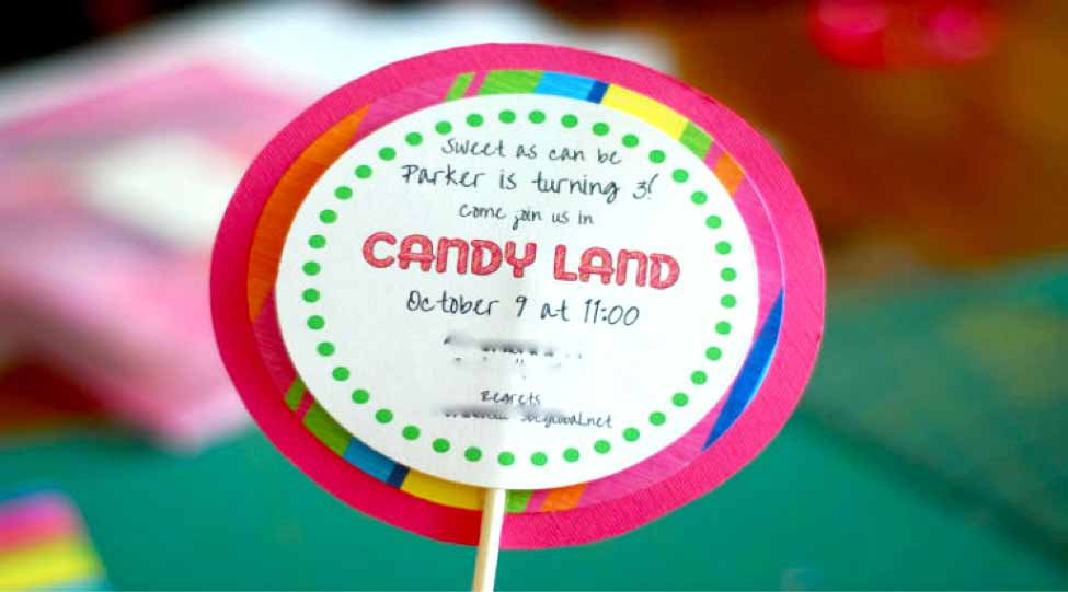 Eye-Catching Candy land Theme Birthday Party for your child