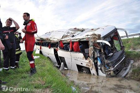 Grave accident de car sur l'A71 : un blessé entre la vie et la mort