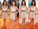 * 31/03/12 : Selena G. s'est rendue à la célèbre cérémonie des « Kids Choice Awards 2012 » à Los Angeles.Selly a remporté les deux prix pour lesquels elle était nommée : « Favorite Fema...