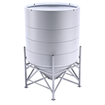 Biodiesel and Conical Chemical Mix Tanks
