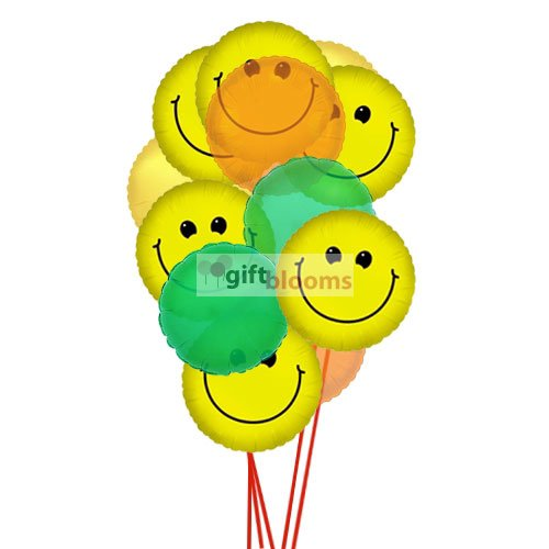 Balloon Bouquets Delivery Online In USA | Giftblooms