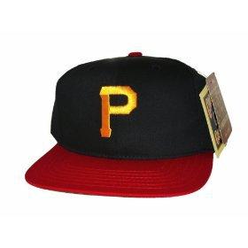 Casquette Neuve Ajustable Officielle MLB - Pittsburgh Pirates Snapback - Visiere Plate - Noire/Rouge: Amazon.fr: Bienvenue
